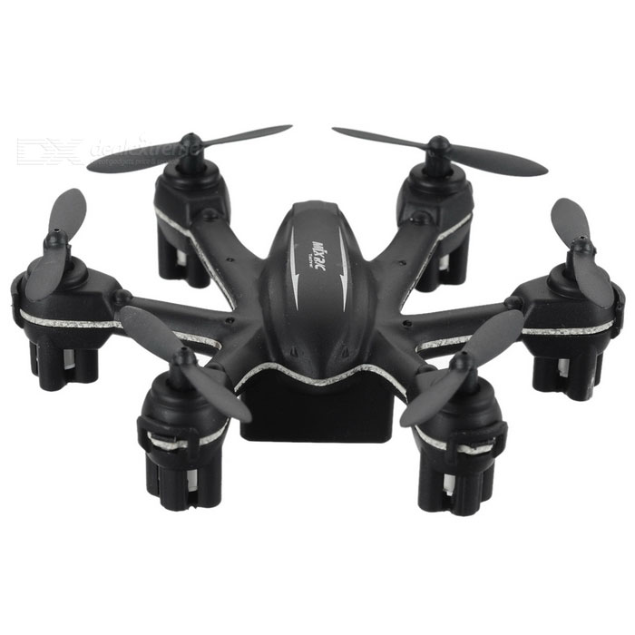 MJXR / C X901 2.4GHz 4-CH-6 Axis Gyro controle remoto R / C Hexacopter w / Lamp / 3D Tumble - preto + cinza