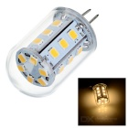 G4 2W 24-2835 SMD 180lm 3500K Warm White LED Light (12V)