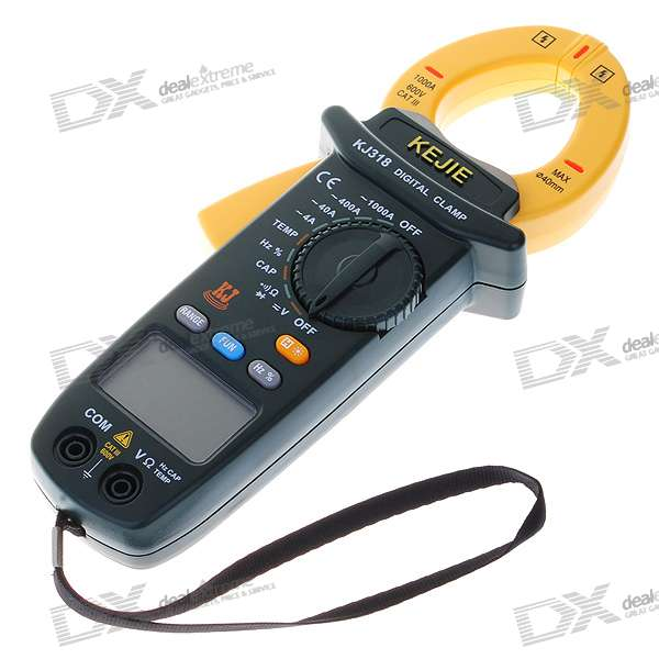 "2.0"" LCD Digital Multimeter Current Clamp (2*AA Included)"