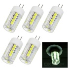 JRLED G4 3W 26-2835 SMD Cool White Light Mini Bulb (AC 220V / 5PCS)