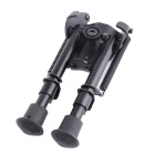 ACCU New Cheap Aluminum Alloy Spring Loaded Retracable Bipod - Black