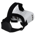"Virtual Reality 3D Video Gafas w / BT Ratón para 3.5 ~ 6.0 ""Teléfono-blanco"