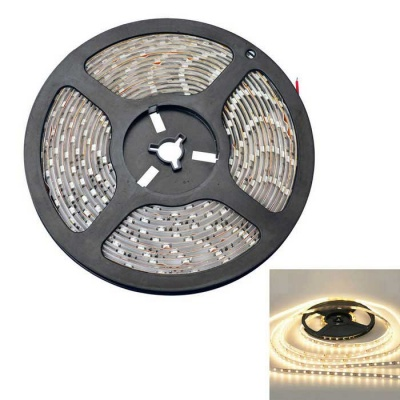 JIAWEN 12W 2800lm Warm White 300-3528 SMD LED Strip Light (DC12V / 5m)