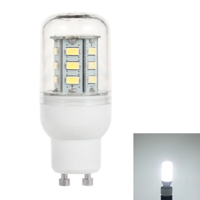 GU10 2.5W LED Corn Bulb Lamp Cold White Light 6500K 300lm 24-SMD 5730 (AC 110V)