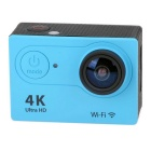 "2"" LCD 12MP 1080P Wi-Fi Waterproof Action Camera - Blue"