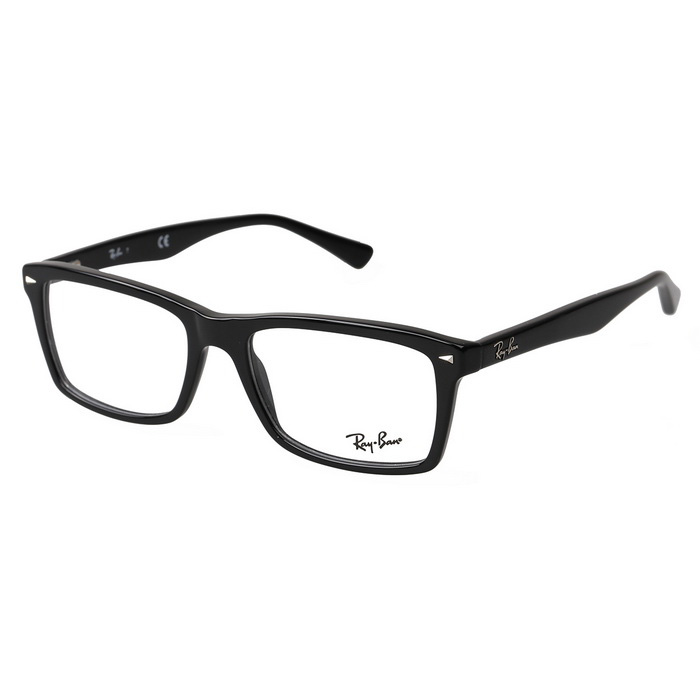 Unisex Full-Rim Cellulose Acetate Plain Spectacles Frame for Myopia Glasses