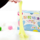 MAIKOU Non-Toxic Environmental Protection DIY Educational Soft Clay Plasticine Toy - Light Yellow