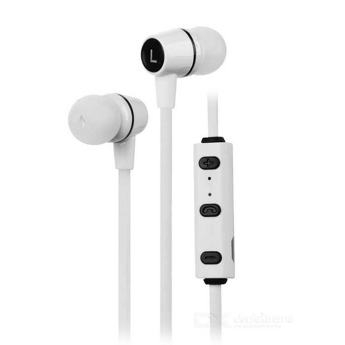 Bluetooth V4.1 In-Ear Sports Earphones w/ Mic. - White