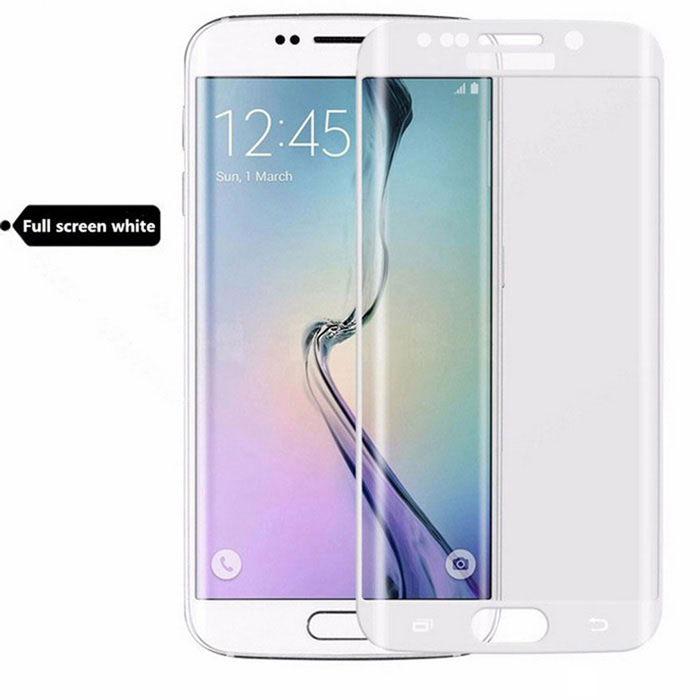 3D Anti-Explosion Full Cover Screen Protector Guard for Samsung Galaxy S6 Edge Plus - Transparent
