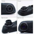 "5"" LCD Special Rearview Mirror 1080P HD Car DVR Camcorder IR Night Vision Dual Lens 174° Wide-angle"