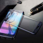 0.2D & 3D Anti-exposion Tempered Glass Screen Protector for Samsung Galaxy S6 Edge Plus - Dark Blue
