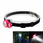 3-LED Waterproof Mini Headlamp Working Lamp Cool White Light