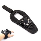 Hand Strap Mount Holder for GoPro Hero 4 / 3+ / 3 / Xiaoyi / SJ4000 - Black