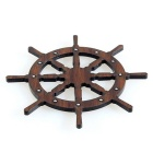 Magnet Retro Sailor Rudder style Réfrigérateur - Brown