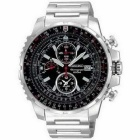 Seiko Alarm Chronograph Pilot Flight Master Men's Watch SNAD05P1 without box
