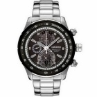 Seiko SNAC89P1 Men's Analog Chronograph Watch - Silver (No Box)