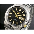 Seiko 5 SNKK17J1 Automatic Stainless Steel Black Dial Analog Men's Japan Watch (No Box)