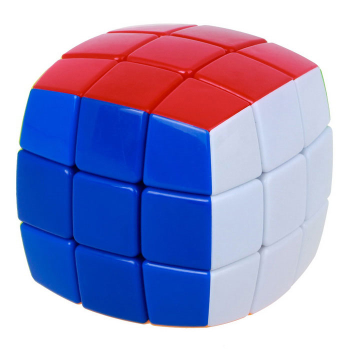 3x3x3 Colorful Bread Type Magic Cube -