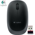 Genuine Logitech M165 2.4GHz Wireless Gaming Mouse w/ Nano Receiver - Black