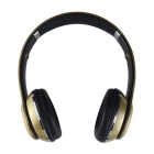 G.D.SMITH  S460 Head Style Wireless Bluetooth Stereo Headset - Gold