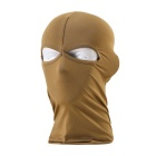 Breathable Double Orifice Mask Hoods - Brown
