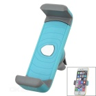 Universal 360' Rotatable Car Air Conditioner Outlet Mount Holder for Cellphone - Blue + Grey