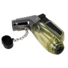 Moda Transparente Windproof Lighter Gas - Green