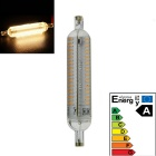 R7S 8W 192-LED-3014 SMD 600lm 3000K Warm White Light Cast Lamp (AC 220-240V)