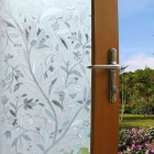 Non-adhesive Frosted Window Film Static Cling Privacy Window Cover Sticker for Bthroom Office Shop