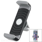 Lengthened 360' Rotatable Car Air Conditioner Outlet Mount Holder for Cellphone - Black + Grey