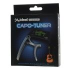 "Meideal TCapo20 1.5"" LCD Capo & Tuner for Acoustic / Electric Guitar & Bass - Golden + Black"