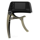 "Meideal TCapo20 1.5"" LCD Capo & Tuner for Acoustic / Electric Guitar & Bass - Bronze + Black"