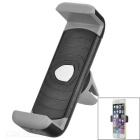 Universal 360' Rotatable Car Air Conditioner Outlet Mount Holder for Cellphone - Black + Grey