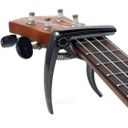 Meideal MC10U Alloy Capo Clamp for Ukulele - Black