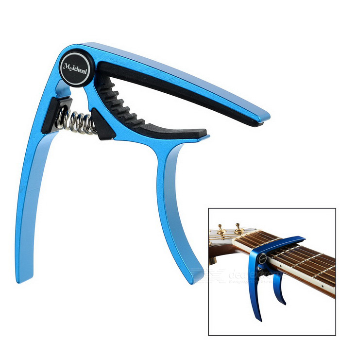 Meideal MC20 Aluminum Alloy Capo Clamp for Acoustic Guitar / Electric Guitar - Blue