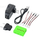 X5A-C 1 to 5 Charger + TOL Adapter + Charger + Data Cable + 5 x DYX-008 Adapter Cable