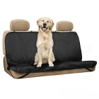 Waterproof Pet/Cat/Dog Seat Cover Car Back Seat Cover Bench Protector w/ Belt