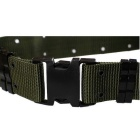 Outdoor Tactical Nylon Fiber Belt w / Fivela - Exército Verde
