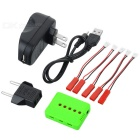 X5A-B 1-to-5 Charger + TOL Converter + Charger + Data Cable + 5-DYX-007 Converting Cable Set