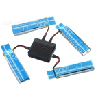 X4A-A08 4-520mAh Baterias + 1-to-4 Charger + TOL Converter + Carregador + Data Set Cable