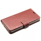 Cuir de luxe Card Slot Wallet Support Flip Cover pour Samsung Galaxy S6 bord G9250