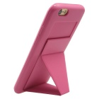 MO.MAT macio TPU Capa Case w / Built-in ímã Kickstand para iPhone 6 PLUS / 6S PLUS - Deep Pink