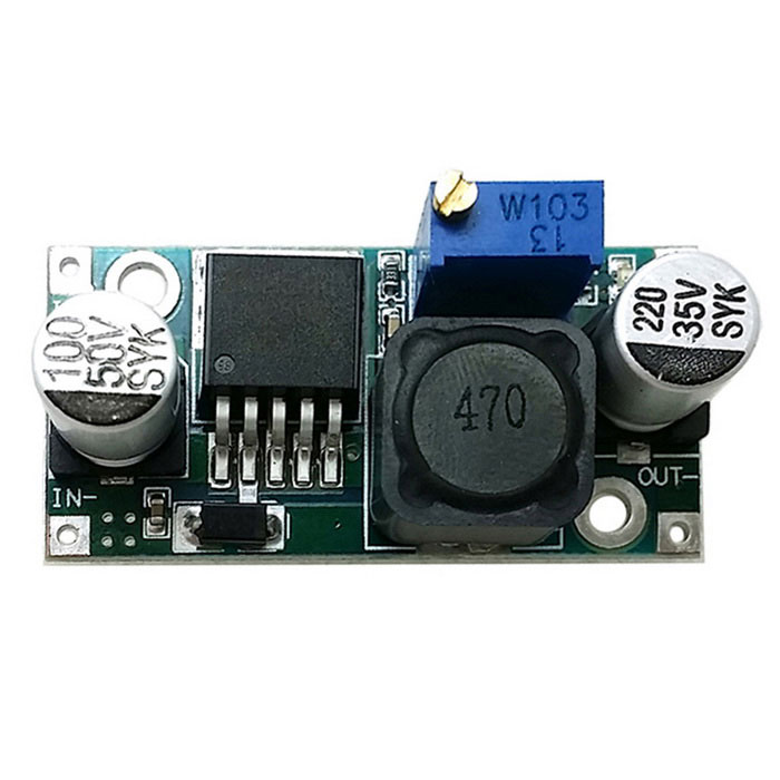 Produino LM2596S DC to DC Buck Power Supply Module With LED - Blue