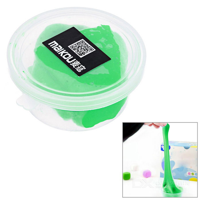 MAIKOU Non-Toxic Environmental Protection DIY Educational Soft Clay Plasticine Toy - Grass Green
