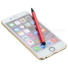 Dual-Purpose Capacitive & Resistive Touchscreen Stylus Pen - Red