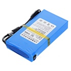 "ricaricabile DC 1248A 12.6V ""4800mAh"" batterie w / switch / LED - blu"
