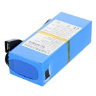 Rechargeable DC 121200 12.6V 12000mAh Battery w/ Switch - Blue
