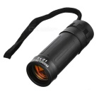 CTSmart 8X21 Outdoor Sports 8X Magnification Monocular Telescope w/ Waist Bag - Black