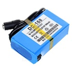 "Rechargeable DC-168 12180 12.6V ""1800mAh"" Battery w/ Switch - Blue"