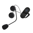 T-COM VB 800m Motorbike BT Intercom Headset Helmet - Black + Blue